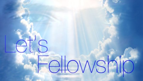 God Created Us In His Image For Fellowship